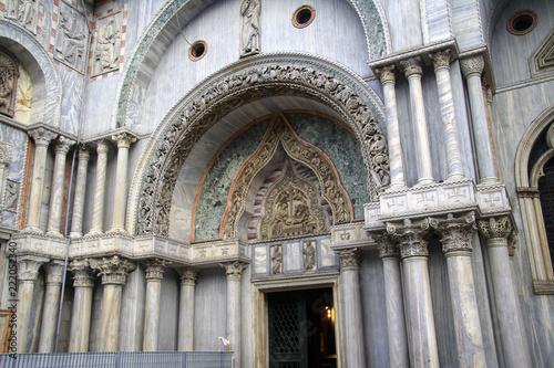 Foto  Exterior columns on San Marco