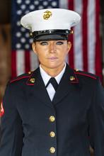 A United States Female Marine ...