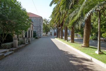 Fototapeta Blato town on Korcula island, Croatia