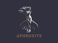Aphrodite Or Venus. Vector Emb...