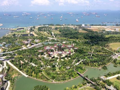 シンガポール 近代的 街並み