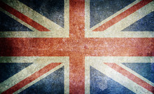 Old Grunge England Flag