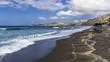 Surf on the black beach