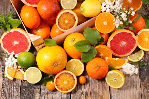 Fotografie, Obraz  assorted citrus fruit