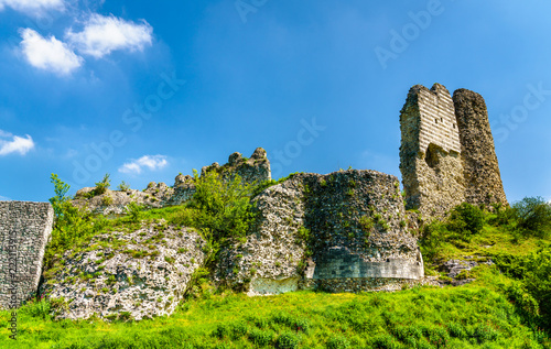 Keuken foto achterwand Europa Chateau Gaillard, a ruined medieval castle in Les Andelys town - Normandy, France
