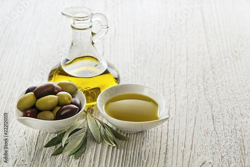 Foto op Canvas Aromatische Olive oil