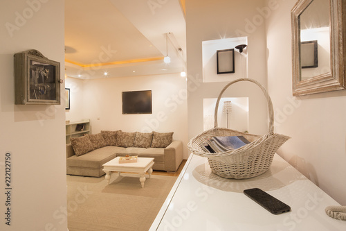 Cousy living room with siting area.interior фототапет