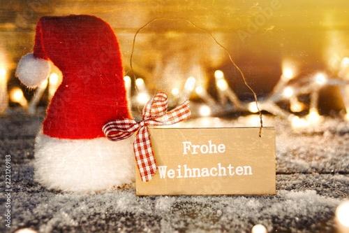 Standard Weihnachtsgrüße.Weihnachtsgrüße Frohe Weihnachten Buy This Stock Photo And