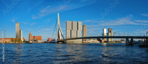 Keuken foto achterwand Rotterdam Rotterdam cityscape , Netherlands