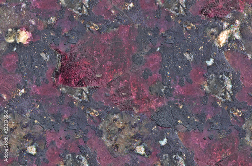 dark red eudialyte seamless texture macro Tablou Canvas