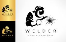 Welder Logo Vector