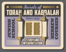 Jewish Religion Torah And Kabb...