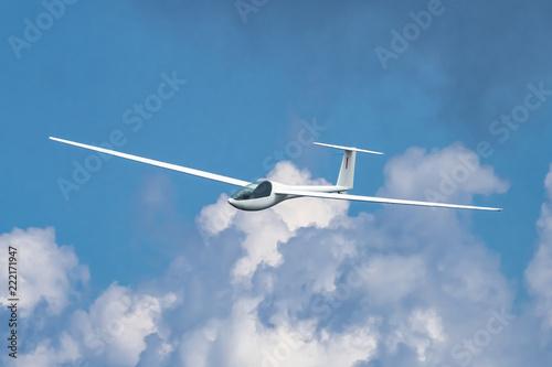 Aliante in volo