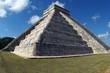 Leinwanddruck Bild - Impressive mayan temple Chichen Itza in Mexico