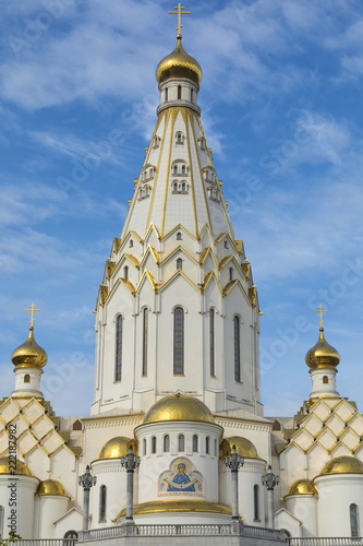 Papiers peints Con. ancienne All Saints Church In Minsk, Belarus. Minsk memorial church of All Saints and in memory of the victims, which served as our national salvation.