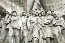 Bas-relief Of The Soviet Era O...