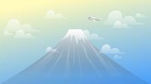 Landscape Mountain Fuji View W...