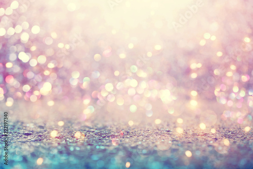 Photo  Beautiful abstract shiny light and glitter background