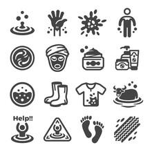 Mud Icon Set