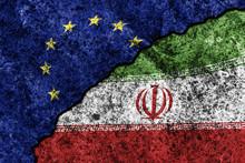 Two Flags Of The European Unio...