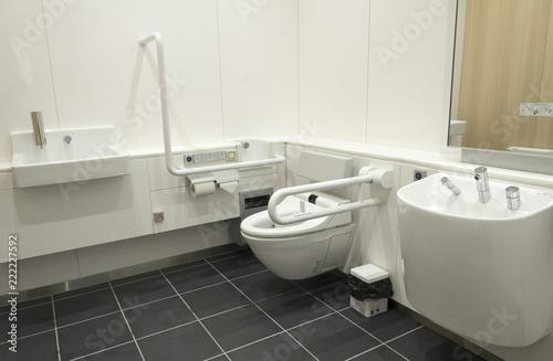 多機能トイレ(多目的・高機能トイレ)の内部 Fototapeta