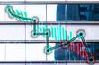 Financial data charts - Down Market Trend / Bear Market Trend
