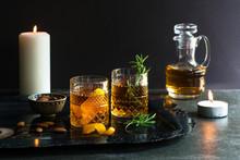 Old Fashioned Cocktail Landscape