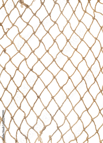 rope net pattern or texture for soccer, football, volleyball, tennis and fisherm Slika na platnu