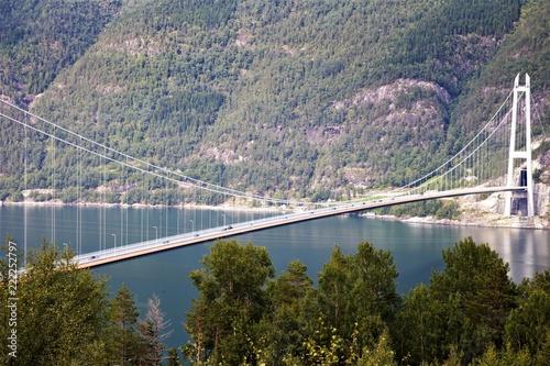 Poster Bridges Ponte ad unica campata hardanger brige