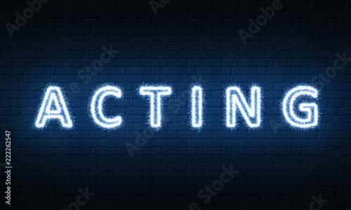 ACTING Fototapete