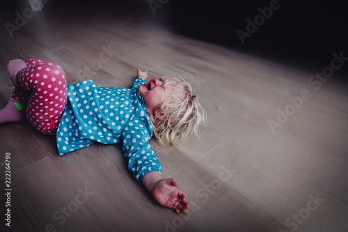 Cuadros en Lienzo crying child, depression and sadness, abuse, stress