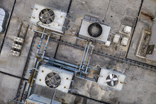 Top View Of Cooling Tower At R...