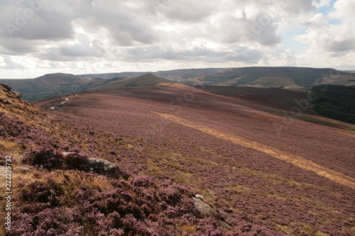 Spoed Foto op Canvas Cappuccino Highlights from Peak District