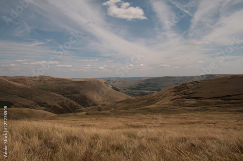 Foto op Plexiglas Grijs Highlights from Peak District