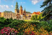Krakow - Castle Of Wawel Is One Of The Main Travel Attractions - One Of The Main Symbol Of Krakow