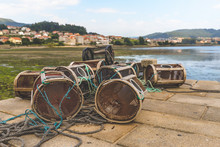 Lobster Pots - Combarro