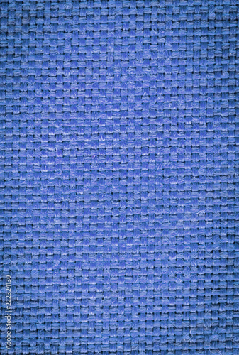 Blue Woven Fabric In Rustic Pattern With Earth Tone Shades Of Color Hd