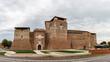 Panorama der Burg Sismondo in Rimini, Italien