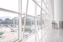Big Glass Window, Detail Of Ar...