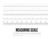 Measuring Rulers Of Different ...