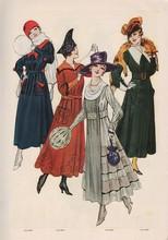 Gravure Le Miroir Des Modes De...