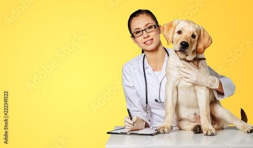 Veterinarian.