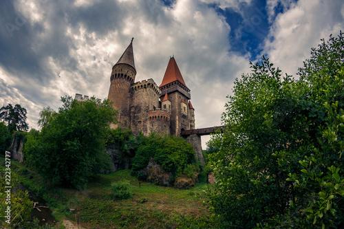 Foto op Plexiglas Kasteel Beautiful medieval castle shot in daylight