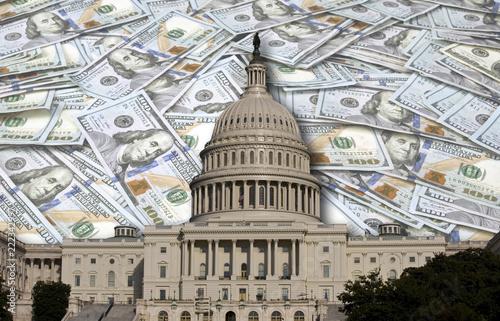 Congress Spending Your Money. Canvas-taulu