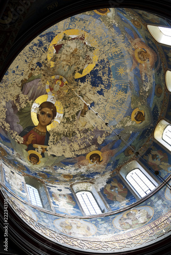 Photo Frescoes in the Cathedral of the Holy Great Martyr and Healer Panteleimon