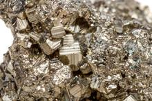 Macro Mineral Stone Pyrite Gol...