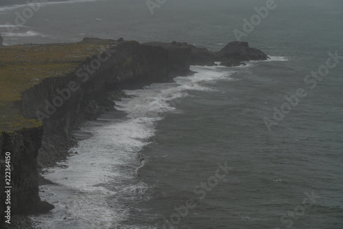 In de dag Kust South coast of iceland, nature and landscapes