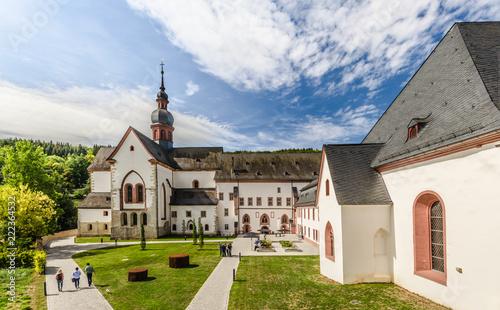 Foto op Plexiglas Historisch geb. Kloster Eberbach im Rheingau