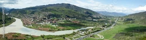 Poster Panoramafoto s Mtskheta Holy City Panorama