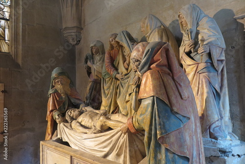 Fotografie, Obraz In der Kirche Notre Dame in Semur-en-Auxois, Burgund
